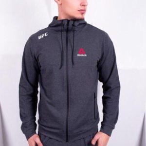 Заказать серый мужской легкий спортивный костюм Reebok (размер 44-52) недорого
