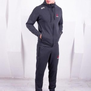Купить серый мужской легкий спортивный костюм Reebok (размер 44-52) в Украине