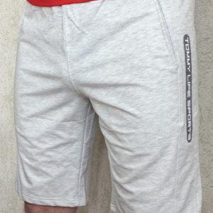Приобрести мужские светло-серые шорты из трикотажа (размер 46-54) по низким ценам