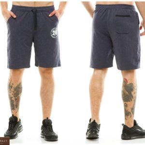 Заказать джинс темно серые мужские трикотажные однотонные шорты из двухнитки (размер 48-56) в Киеве, Львове. Днепре