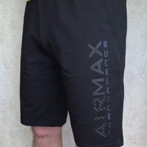 Заказать черные мужские трикотажные шорты AirMax (размер 46-54) онлайн
