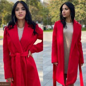 Приобрести красное классическое пальто для женщин из турецкого кашемира на распродаже