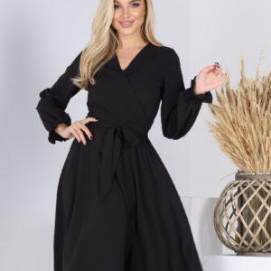 Купити чорне плаття жіноче А-силуету (розмір 42-54) недорого