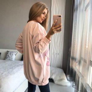 Приобрести женскую спортивную пудра тунику с розовой пантерой в интернете