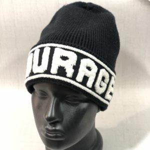 Приобрести черного цвета для женщин шерстяную шапку Garage выгодно
