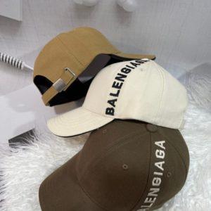Заказать женскую и мужскую бейсболку Balensiaga цвета беж, мокко, коричневый в Украине