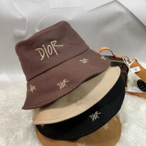 Купить женскую панаму Dior с надписями цвета беж, мокко, розовую, черную