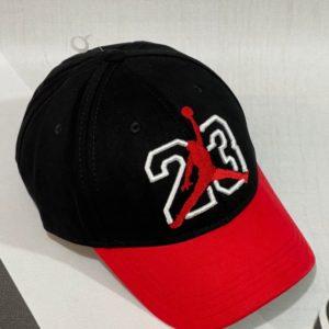 Заказать черно-красную женскую и мужскую бейсболку 23 Jordan в Украине