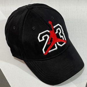 Заказать онлайн черную бейсболку женскую и мужскую 23 Jordan