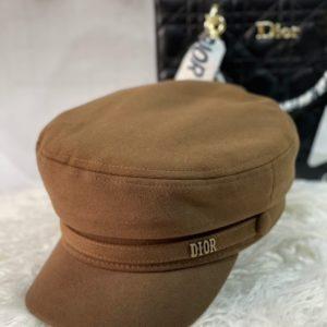 Заказать мокко женскую кепи Dior из кашемира недорого