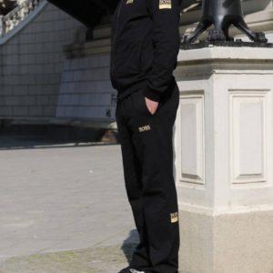 заказать мужской спортивный костюм в чёрном цвете недорого с быстрой доставкой