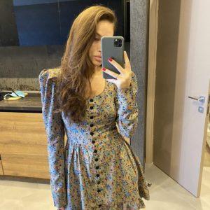 купить женское платье из штапеля по выгодному предложению магазина Unimarket