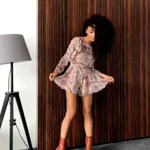 стильный женский комбинезон с юбкой шортами недорого