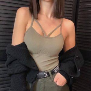 Заказать недорого мокко топ с push up для женщин