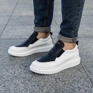 купить мужские белые кроссовки по выгодной цене