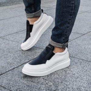 приобрести мужские белые кроссовки онлайн недорого