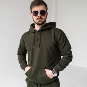 заказать мужское худи хаки по выгодной цене онлайн