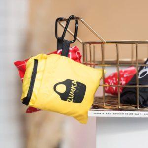 сумка шоппер красного цвета в минималистичном дизайне недорого