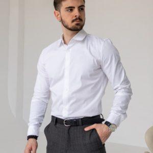 купить белую рубашку в интернет магазине одежды Unimarket
