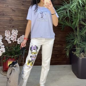Приобрести онлайн сирень костюм RAW с Микки Маусом (размер 42-48) для женщин