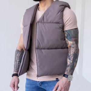 купить мужскую жилетку с утеплителем для весеннего сезона недорого