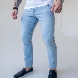 купить мужские приталенные джинсы стрейч по выгодной цене онлайн