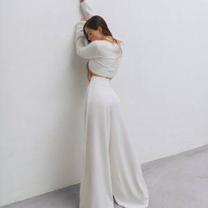 заказать женские летние брюки молочного цвета по низкой стоимости в магазине одежды Unimarket