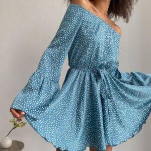 приобрести голубой прогулочный комбинезон женский по низкой стоимости от поставщика с доставкой