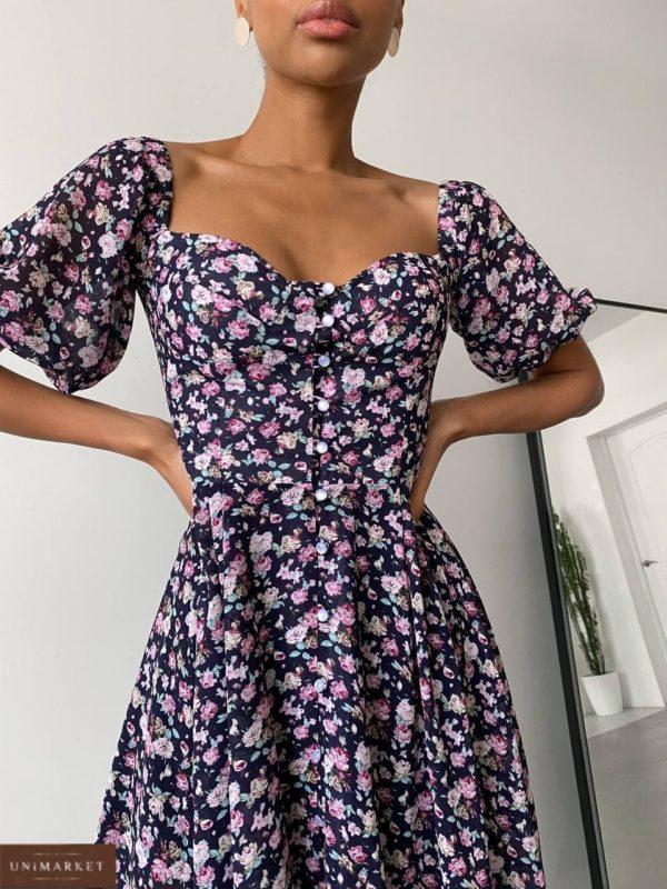 заказать женское платье с декольте с летней скидкой от магазина одежды Unimarket