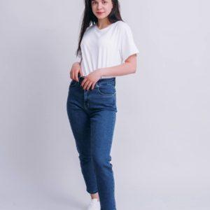 купить летние женские джинсы мом по низкой стоимости с удобной оплатой