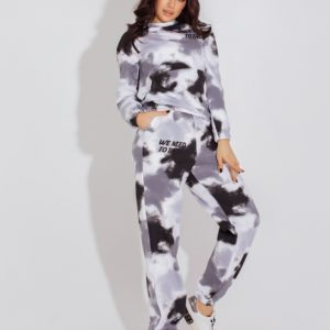 Купити сірий жіночий спортивний костюм з розлученнями (розмір 42-52) онлайн