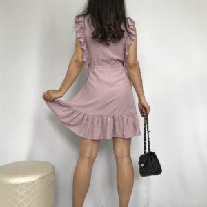 купить женское платье из штапеля пудрового цвета по выгодной цене онлайн