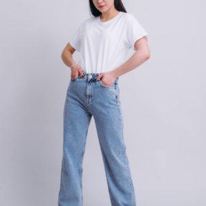 купить женские джинсы синего цвета по лучшей цене