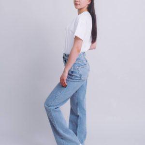заказать джинсы женские синего цвета по низкой стоимости