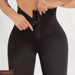 Купить женские лосины с корсетом (размер 42-52) в интернете черные