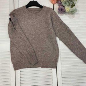 Заказать мокко женский свитер со змейками недорого