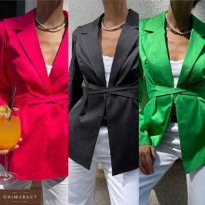купить женский летний пиджак на завязках в ассортименте по лучшей цене в Украине