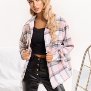Купить пудра женскую рубашку с кашемиром и шерстью в Украине