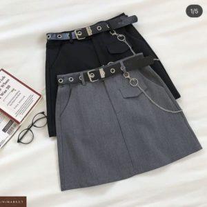 Заказать черную, серую классическую юбку мини онлайн для женщин
