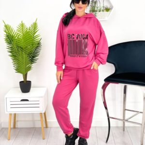 Замовити лавандовий жіночий спортивний костюм зі штрих-кодом (розмір 42-52) онлайн