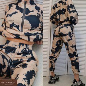 приобрести костюм прогулочный для женщин кофта + штаны по акционной цене онлайн