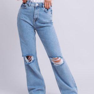 купити джинси жіночі з порізами на колінах за вигідною ціною онлайн