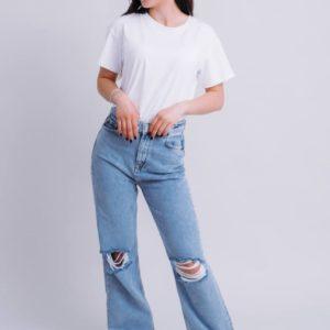 замовити блакитні джинси для дівчат за найкращою ціною від постачальника одягу Unimarket