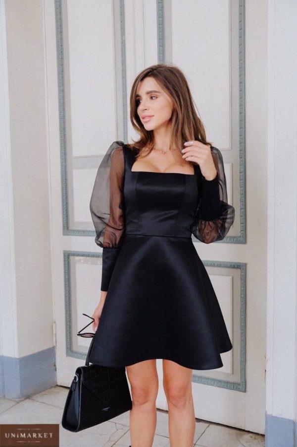 купить шёлковое вечернее платье недорого в онлайн магазине