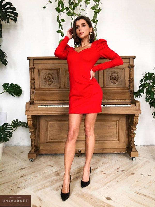 купить вечернее платье красного цвета по лучшей цене в онлайне