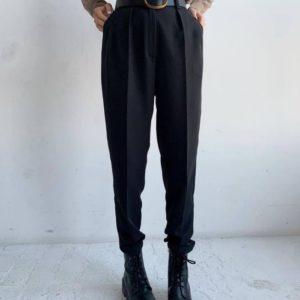 Заказать черные женские брюки со стрелкой онлайн