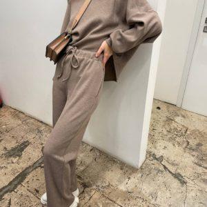 женский костюм трикотаж кофта с длинным рукавом + штаны по акционной цене в Unimarket